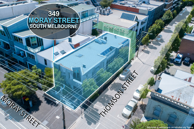 RARE SOUTH MELBOURNE CORNER FREEHOLD
