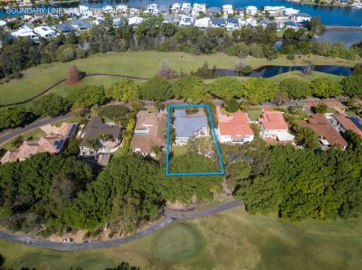 Rare & Magnificent, 1233m2 of Private Golf Front Living