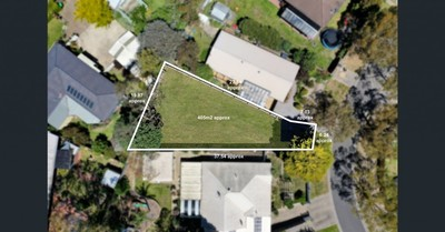 Stunning Land with street frontage and Planning Permit