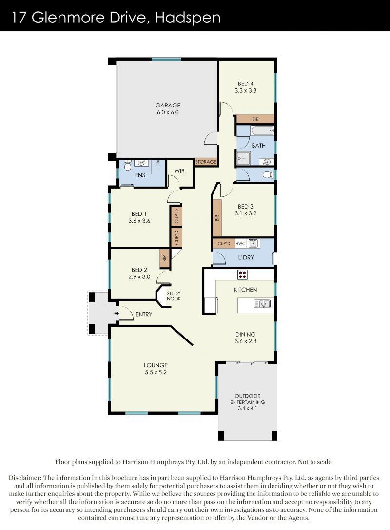 17 Glenmore  Drive Floorplan