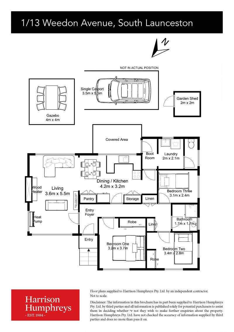 13 Weedon Avenue Floorplan