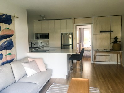 Renovated,  furnished and close to everything