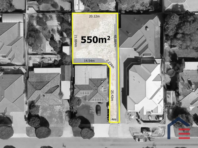 SENSATIONALLY SIZED REAR BLOCK of 550sqm - Approx 447sqm Effective Building Area