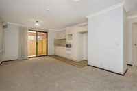 Ground floor two bedroom apartment with north facing rear enclosed courtyard
