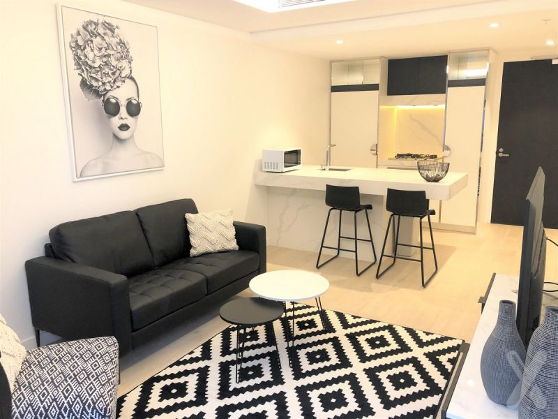 PRIVATE INPSECTION AVAILABLE - Fully Furnished One Bedroom with Carpark and Study!