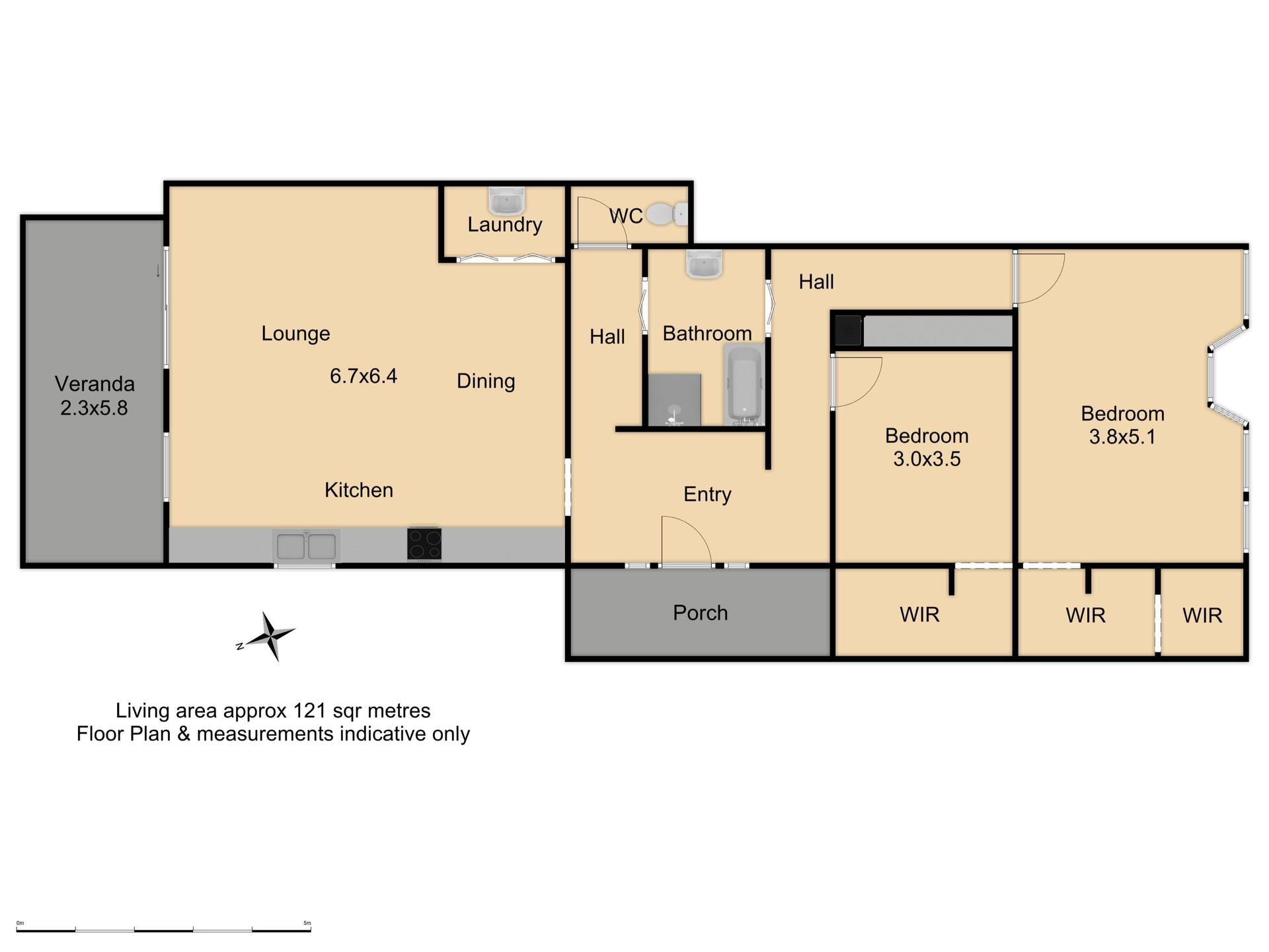 237 Byng Street - Floor Plan