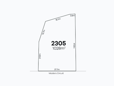 Colebee, Lot 2305 Masters Circuit | Stonecutters Ridge