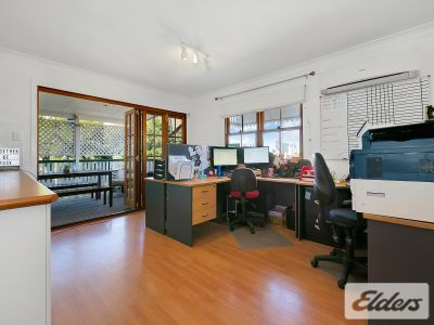 CHARACTER OFFICE WITH 4 CAR PARKS!