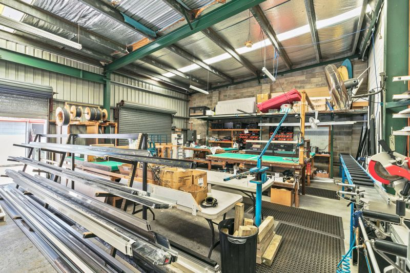 Owner Occupier Industrial Sheds With Holding Income