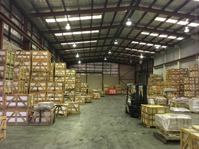 Large - High Clearance Clear Span Warehouse