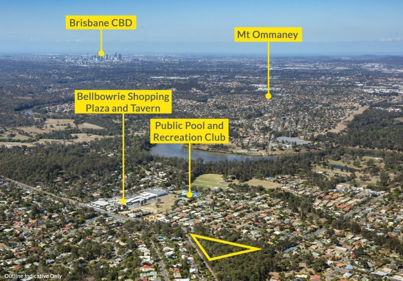 Bellbowrie- 7,446sqm* site (plus House)