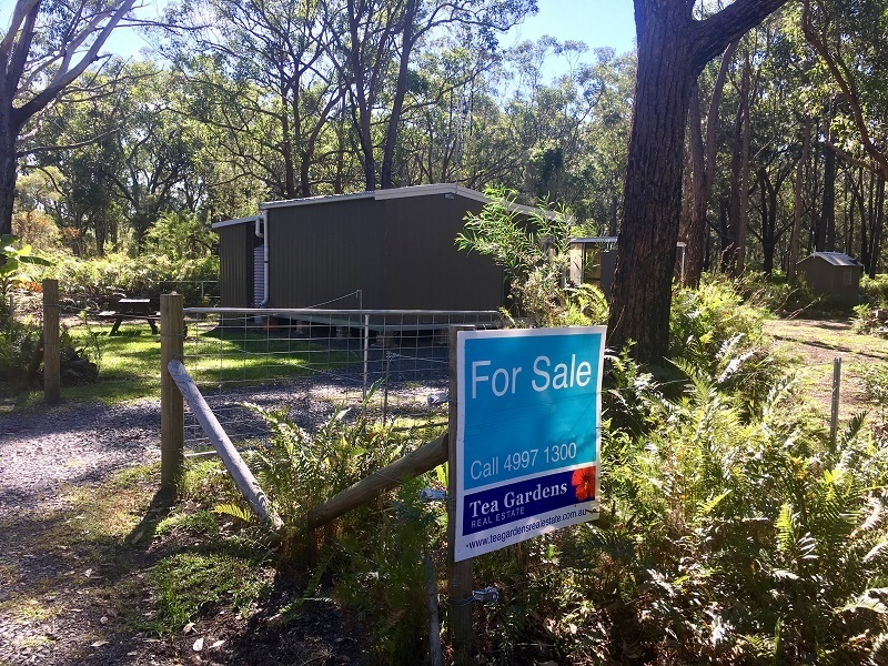 Holiday Block zoned non-urban – 500m to the Shores on Port Stephens