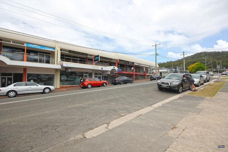 CBD STREET FRONTAGE WITH PARKING