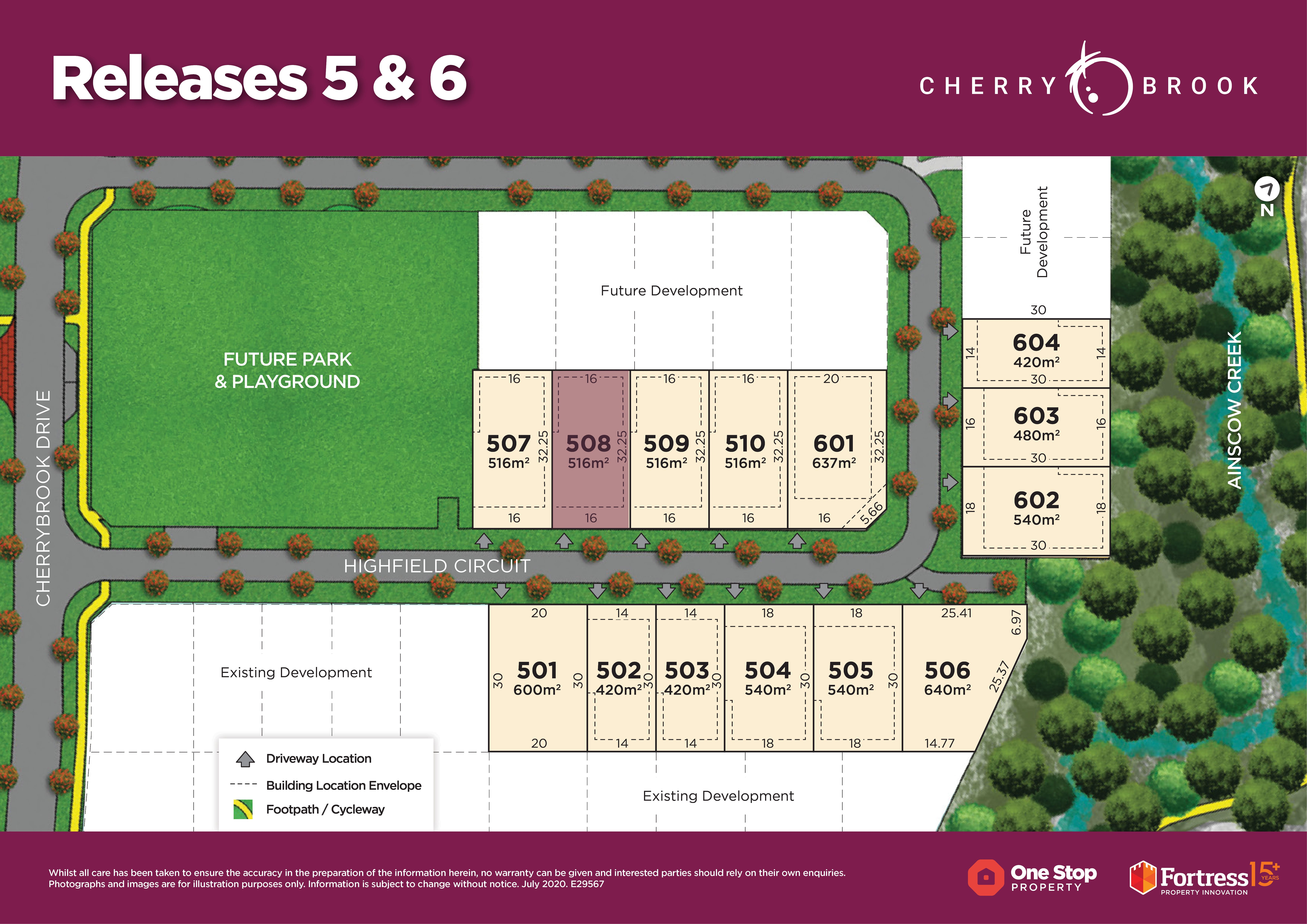 Lot 508 Highfield Circuit, Bentley Park QLD 4869