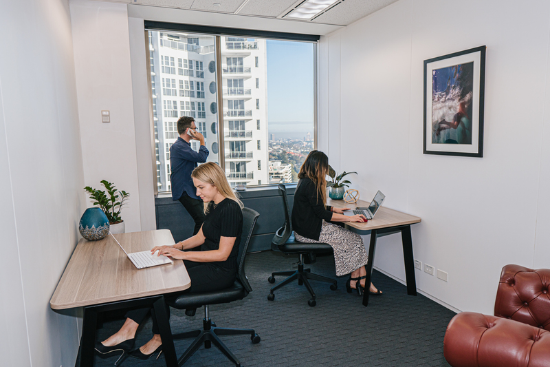 Marvelous views from your 1-person private workspace located in the heart of Bondi Junction