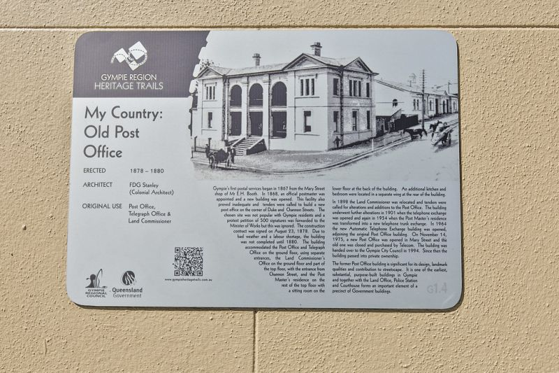 Site Of Historic Post Office