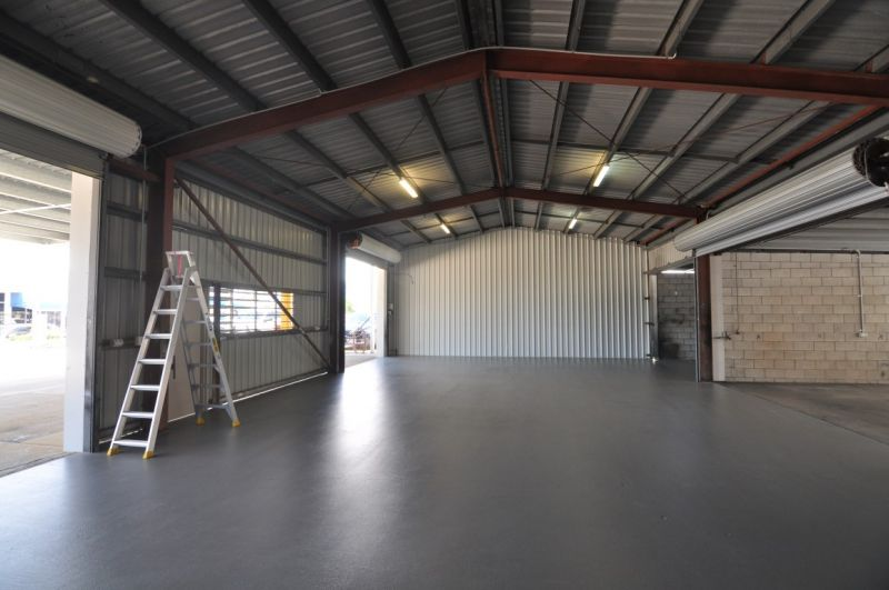Central Garbutt warehouse and offices with secure yard area