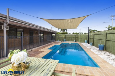 FURTHER PRICE REDUCTION-EXCELLENT FIRST HOME/ OR FOR DOWNSIZING-RELAXING INGROUND POOL -BIG BACK YARD- ALL OFFERS CONSIDERED