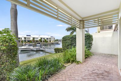 Spacious Waterfront Townhouse in Gated Estate