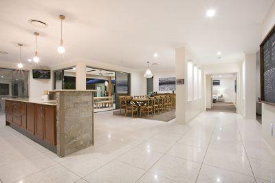 Ultra-Contemporary Single Level Design on Premium Acreage