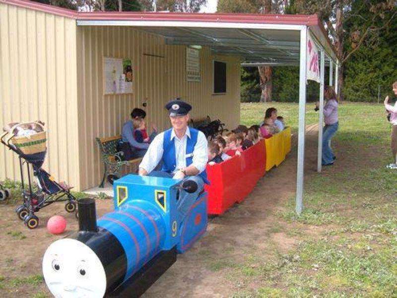 TINY TIM MINIATURE TRAIN RIDES