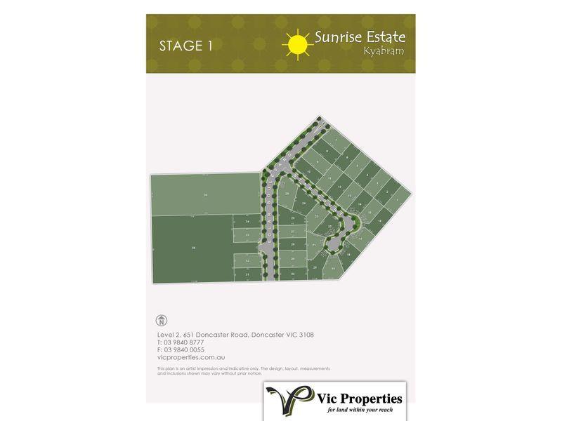 Lot 32/ Solar Boulevard, Kyabram VIC 3620