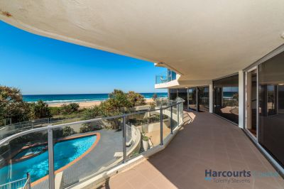 Absolute Beachfront 3 bed in Prime Redevelopment Site of only 6