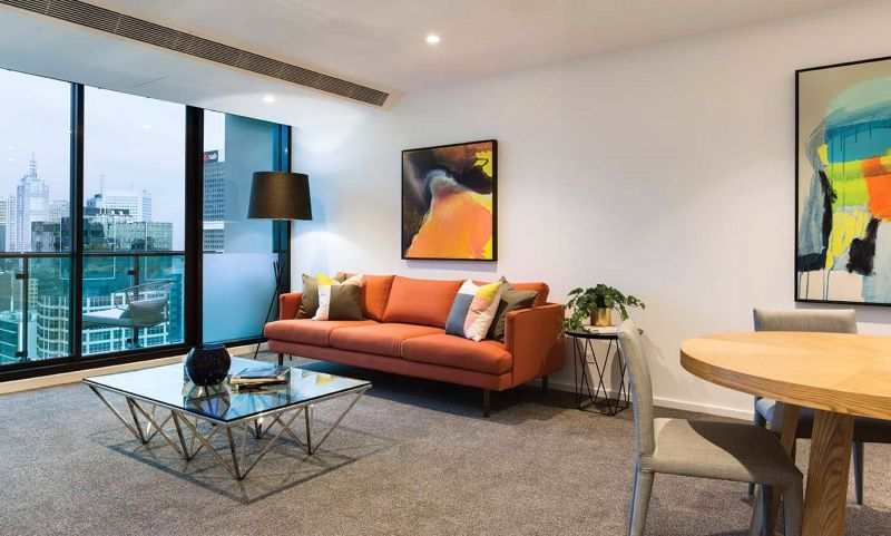 Stunning Two Bedroom Apartment in Melbourne One!