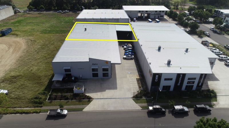 Rare to the market -  488m2 warehouse with gated hardstand