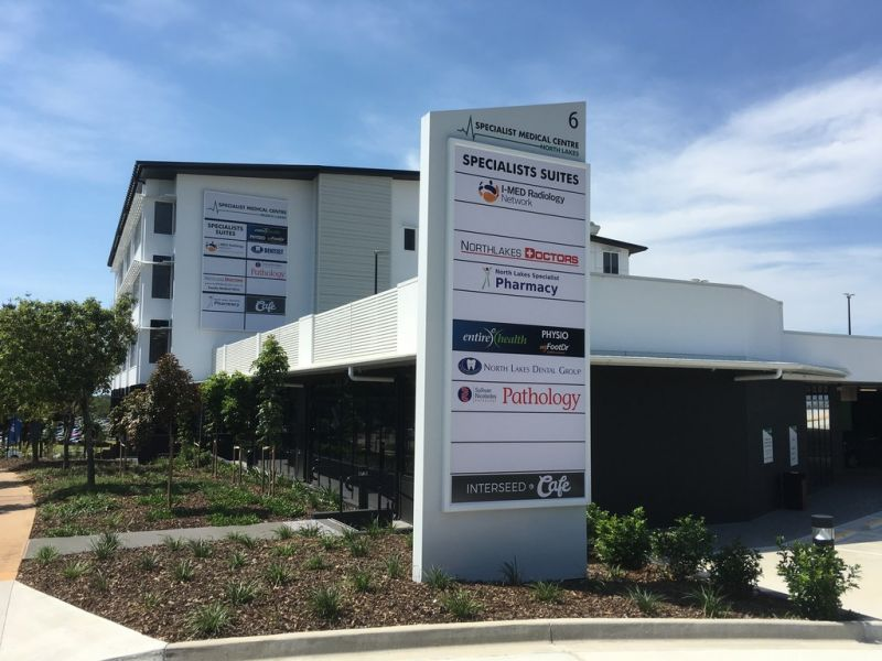 LEVEL 3 & 4 PRIVATE SPECIALIST MEDICAL SUITES  65m² - Centre now 72% Occupied