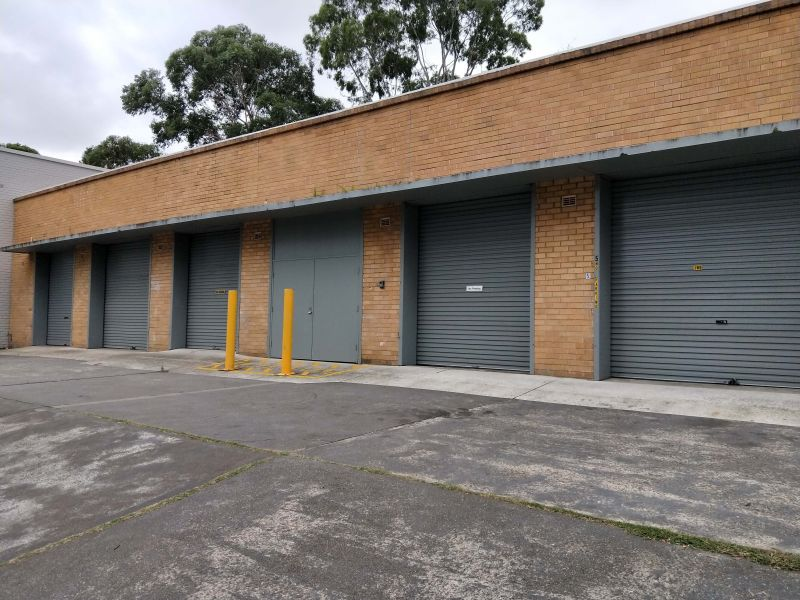 STORAGE UNIT - GREAT VEHICULAR ACCESS