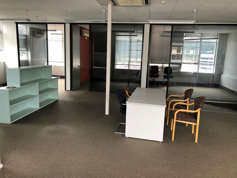 Top floor office space in central Lower Hutt