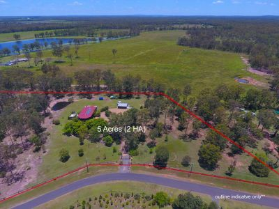 LIFESTYLE HOME ON 5 ACRES + POOL & SHEDS!