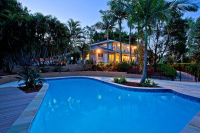 Tranquil Resort Acreage Lifestyle with a touch of the Hamptons in Prestigious Tallai