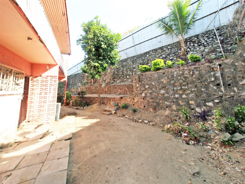 Prime Land for sale with stand-alone house.  Negotiable