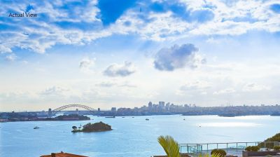 Sensational House-sized Apartment with a View from Every Room!   Prestigious Landmark Building +  Spectacular Sydney Harbour Views + Level Lift Access