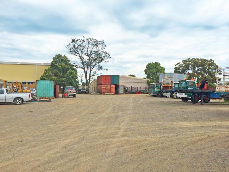 Industrial warehouse ripe for future development