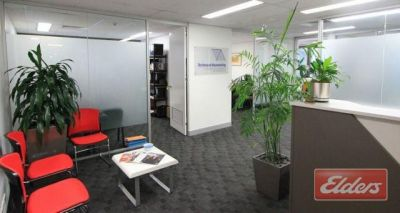 WELL CONFIGURED OFFICE WITH AMPLE VISITOR CARS!