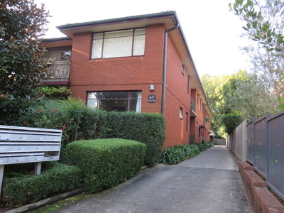 Ground floor two bedroom unit located in a block of 10 units within walking distance to Hunters Hill shops, schools and public transport.