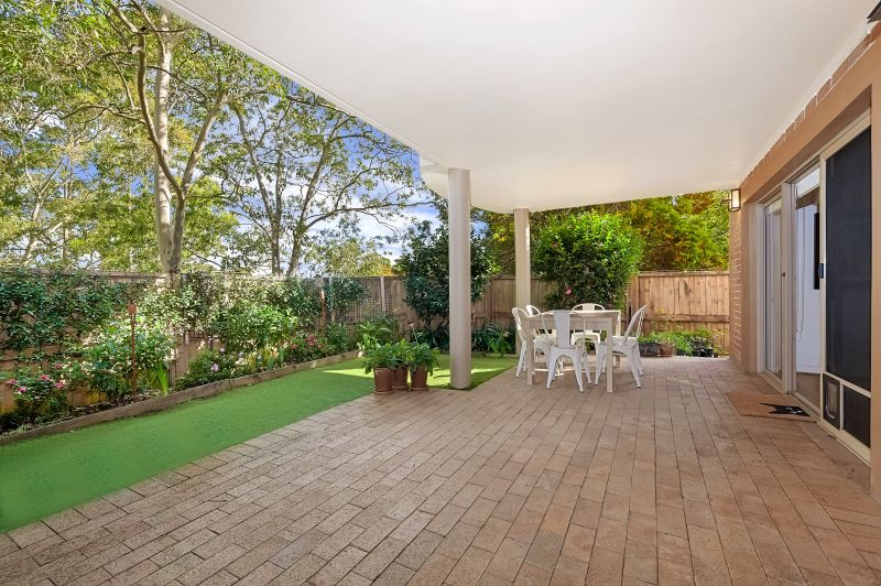 Garden apartment in sought-after position