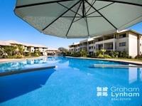 Resort living is a breeze.