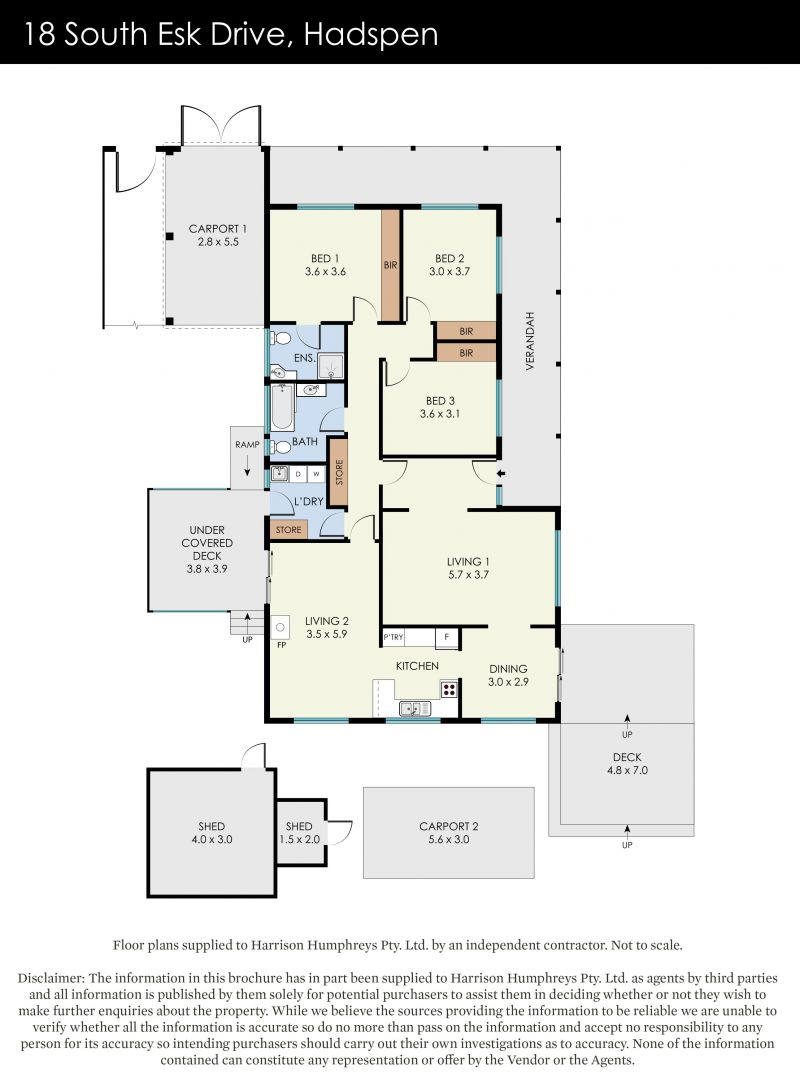 18 South Esk Drive Floorplan
