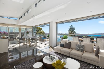 Penthouse perfection in the heart Mosman Village.
