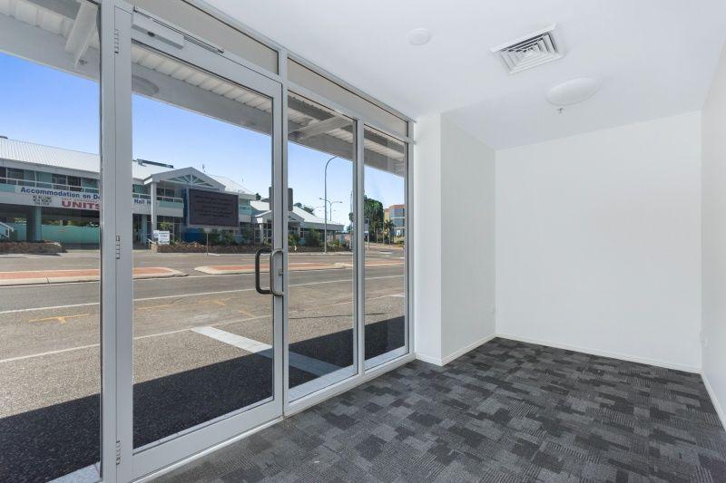 Ground floor office strata - access via Walker Street