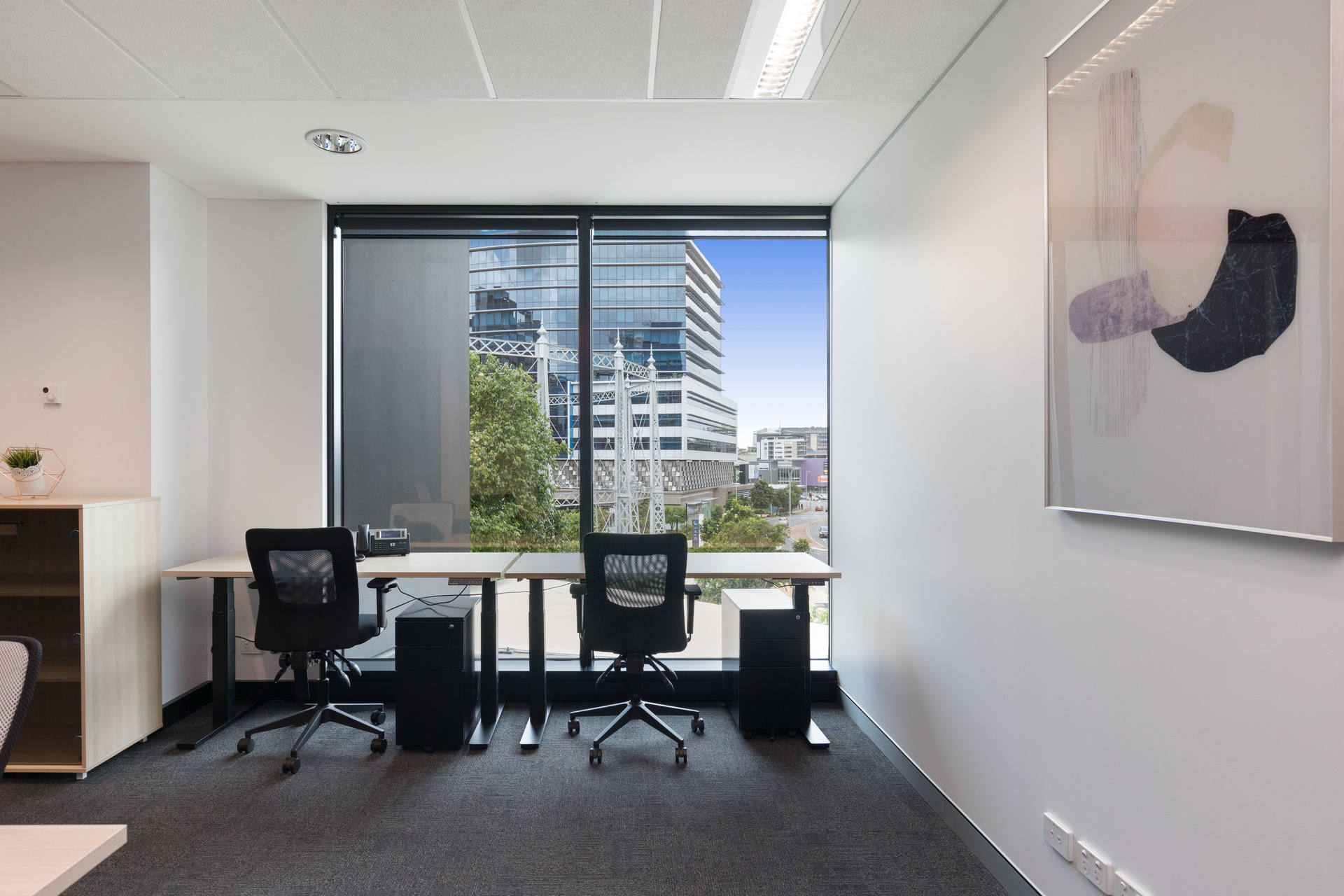 2 person Gasworks office just $275p/w (+GST) - all inclusive flat fee