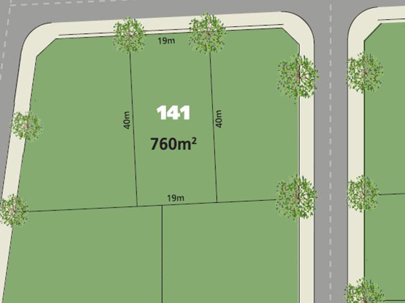 Glenmore Park Lot 141 Proposed  Road