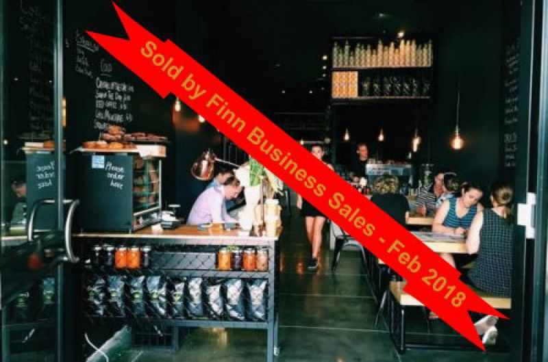 ## Sold - Darwin's Hippest Cafe - Sold ##