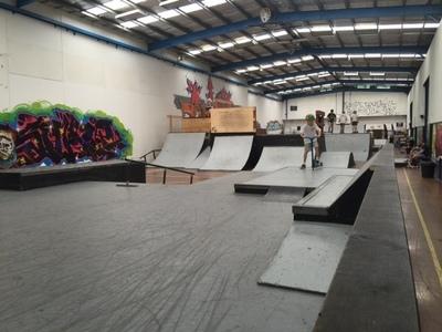 Well supported Melbourne indoor skate centre - Ref: 10030