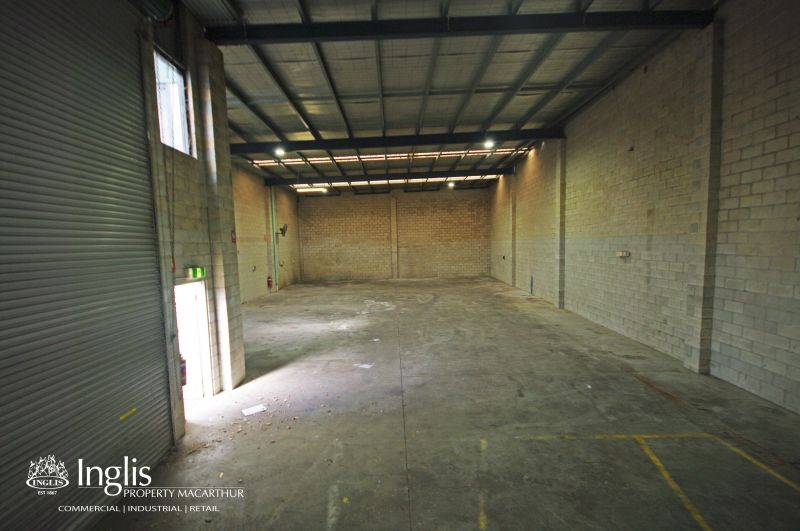 387m2 of prime industrial warehouse available now situated in Narellan's Industrial Precinct