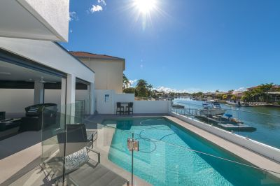 Luxurious Single Level Renovation 18.1m Prime North East Facing Waterfrontage